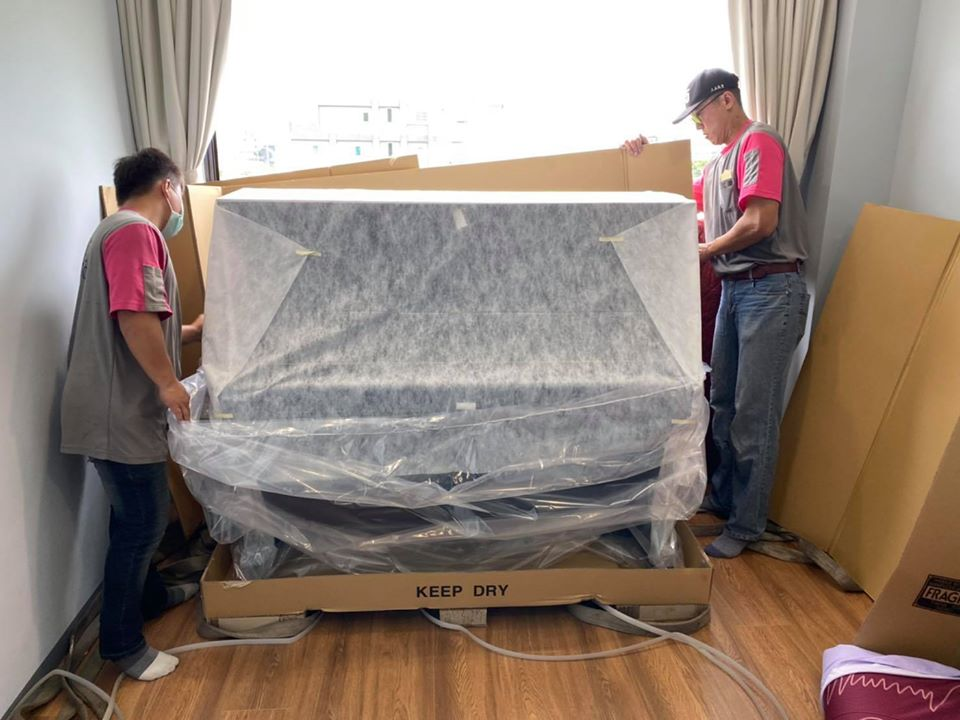 YAMAHA U3直立式鋼琴 拆箱